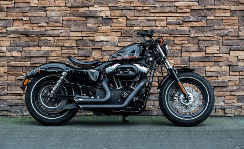 2011 Harley-Davidson XL 1200 X Sportster Forty Eight vivid black US Bikes Uden