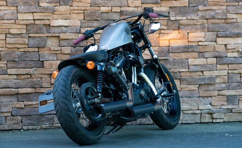 2015 Harley-Davidson XL 1200 X Sportster Forty Eight ABS Bobber Style US Bikes Uden