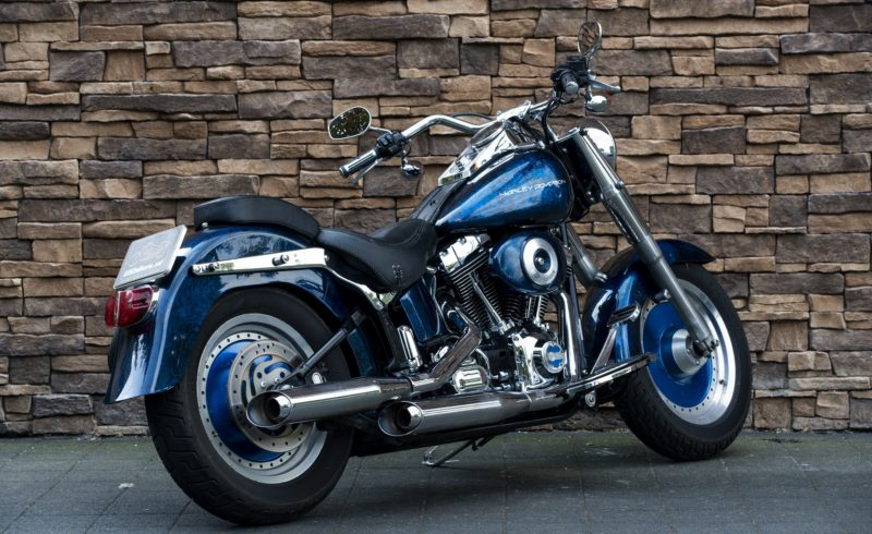2004 Harley-Davidson FLSTF Softail Fat Boy Twincam 88