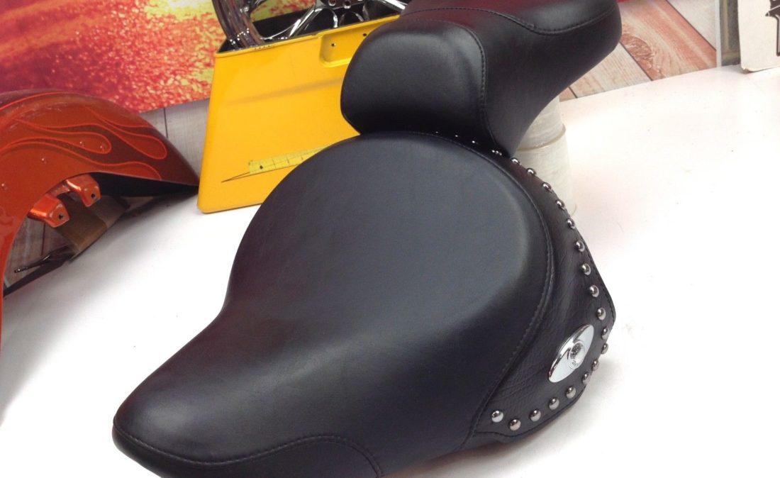 00-08 OEM Harley Davidson Softail Heritage Fatbot Solo & Passenger Pillion Seat L