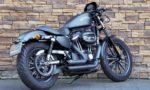 2014 XL883N Iron Sportster black denim ABS Vance Hines