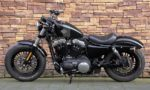 2016 Harley-Davidson XL1200X Forty Eight Vivid Black L