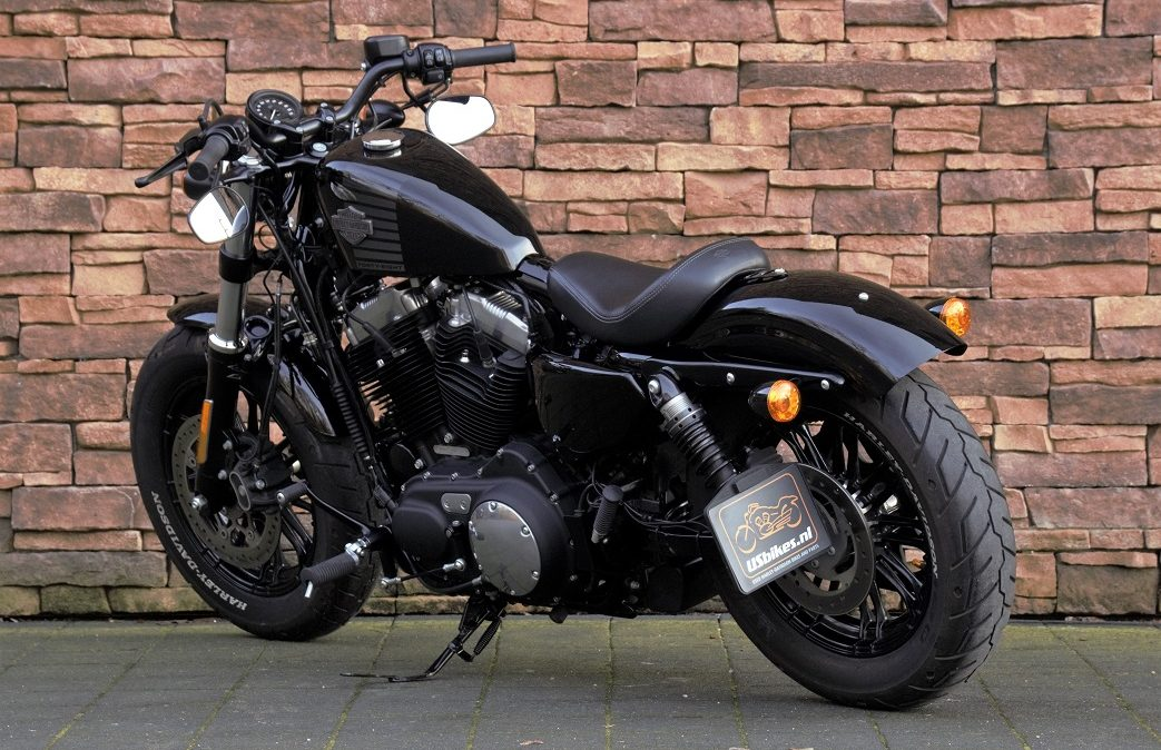 2016 Harley-Davidson XL1200X Forty Eight Vivid Black LA