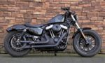 2016 Harley-Davidson XL1200X Forty Eight Vivid Black R