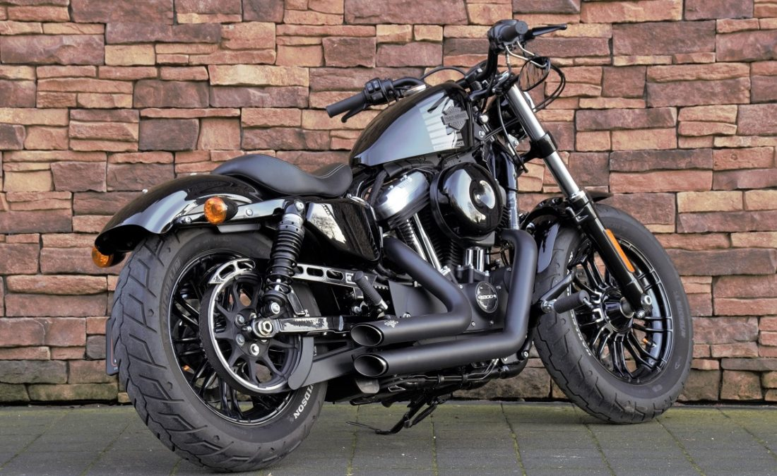 2016 Harley-Davidson XL1200X Forty Eight Vivid Black RA