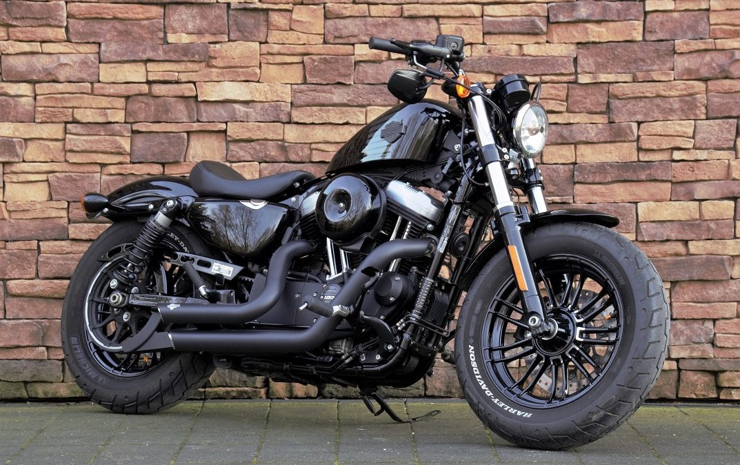 2016 Harley-Davidson XL1200X Forty Eight Vivid Black RV