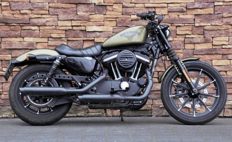 2016 Harley-Davidson Sportster XL883N Iron Olive Gold