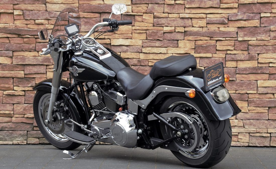 2012 Harley-Davidson FLSTF Fat Boy Softail LA