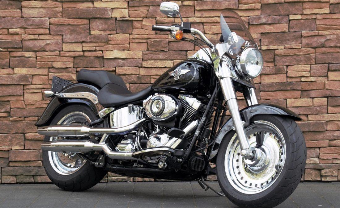 2012 Harley-Davidson FLSTF Fat Boy Softail RV