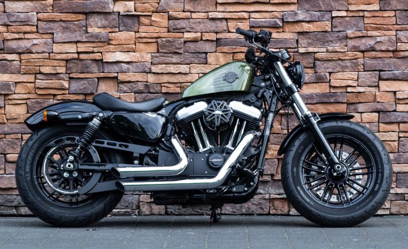 2016 Harley-Davidson XL1200X Forty Eight Sportster Olive Green