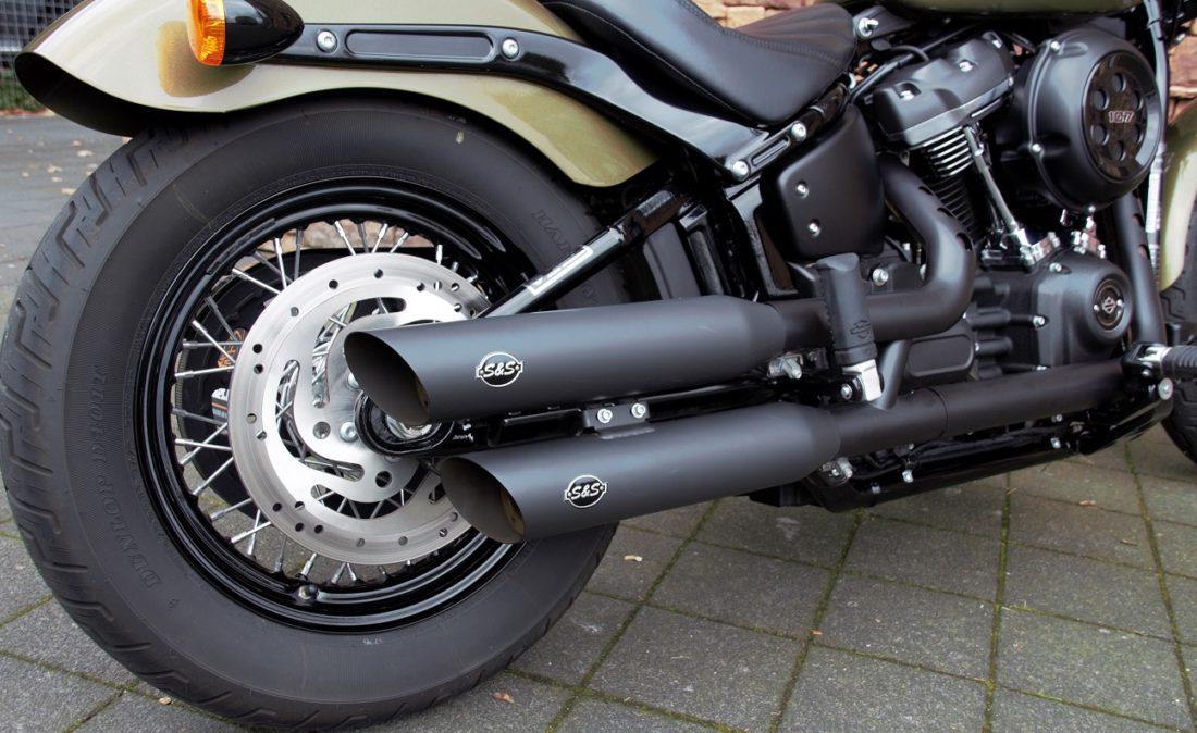 2017 Harley-Davidson FXBB Softail Street Bob M8 107 Ez