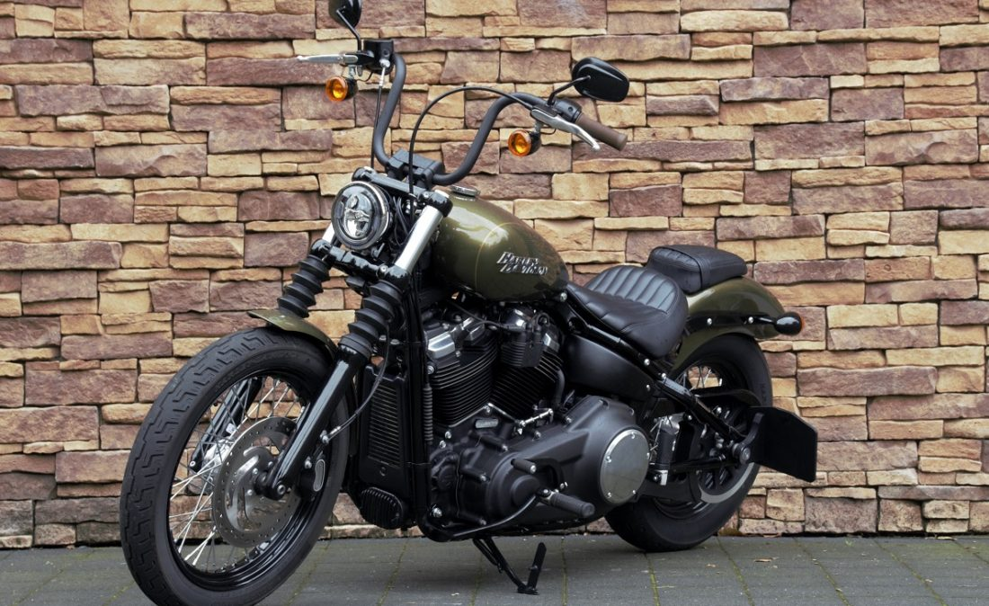 2017 Harley-Davidson FXBB Softail Street Bob M8 107 LV