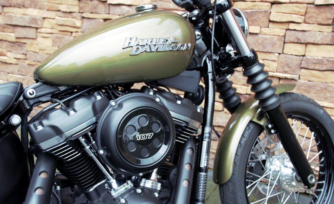 2017 Harley-Davidson FXBB Softail Street Bob M8 107 Tz