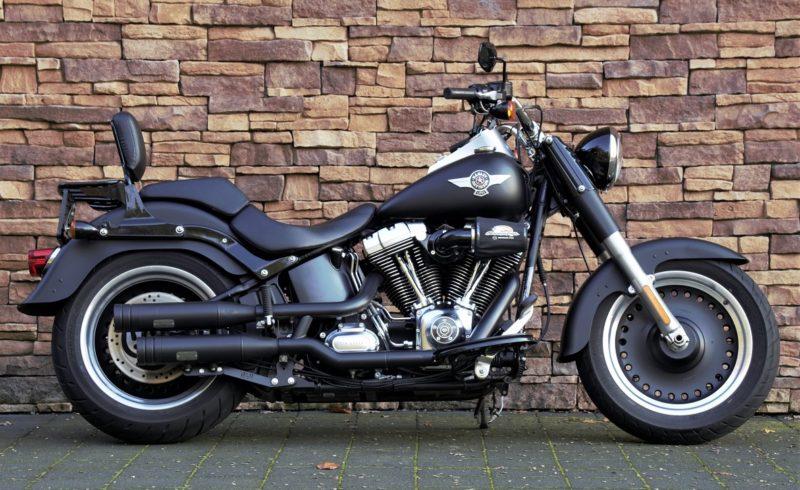 2011 Harley-Davidson FLSTFB Softail Fat Boy Special Jekill & Hide