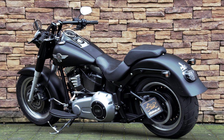 2012 Harley-Davidson FLSTFB Softail Fat Boy Special 103 LA