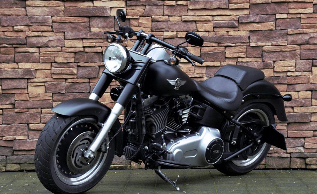2012 Harley-Davidson FLSTFB Softail Fat Boy Special 103 LV