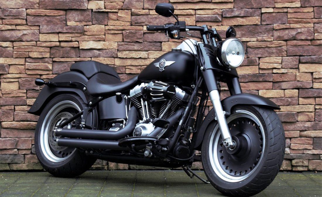 2012 Harley-Davidson FLSTFB Softail Fat Boy Special 103 RV