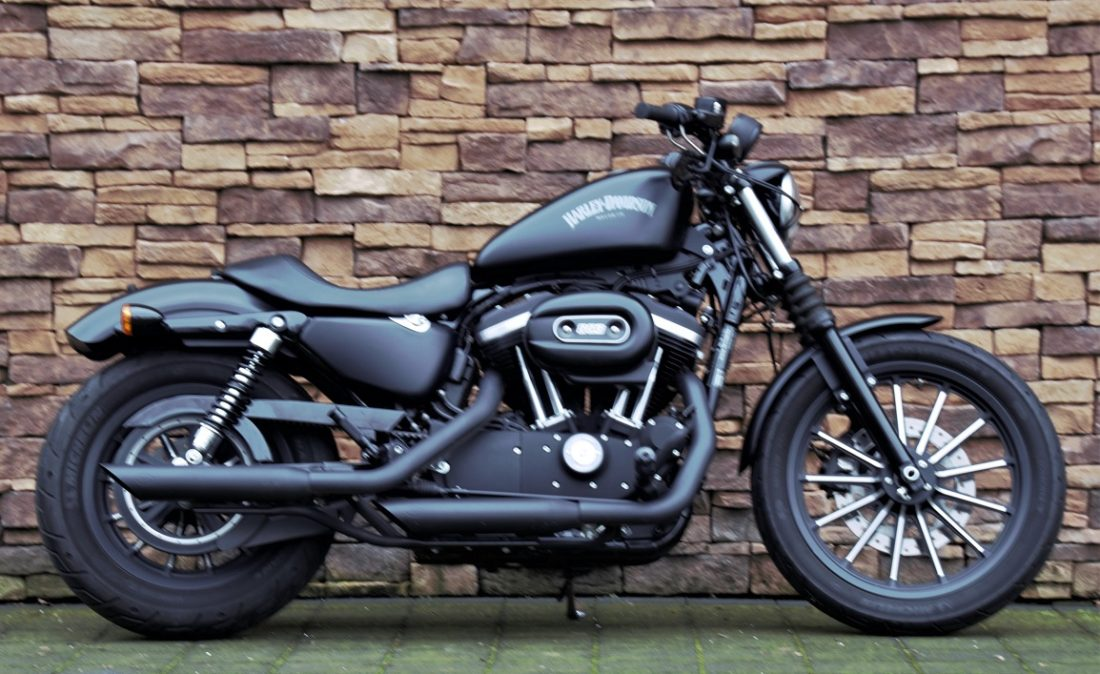 2014 Harley-Davidson XL883N Sportster Iron ABS denim black R