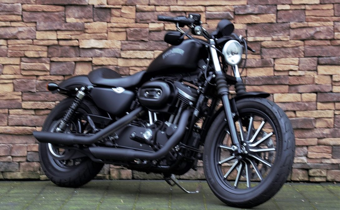 2014 Harley-Davidson XL883N Sportster Iron ABS denim black RV