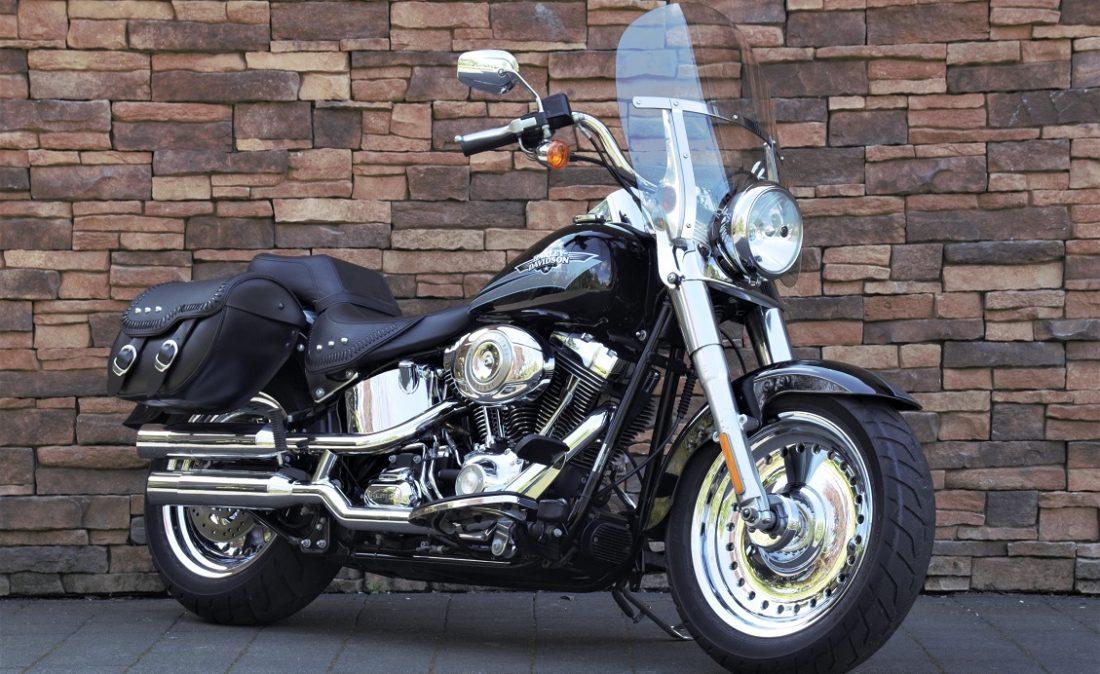 2009 Harley-Davidson FLSTF Fat Boy Softail RV