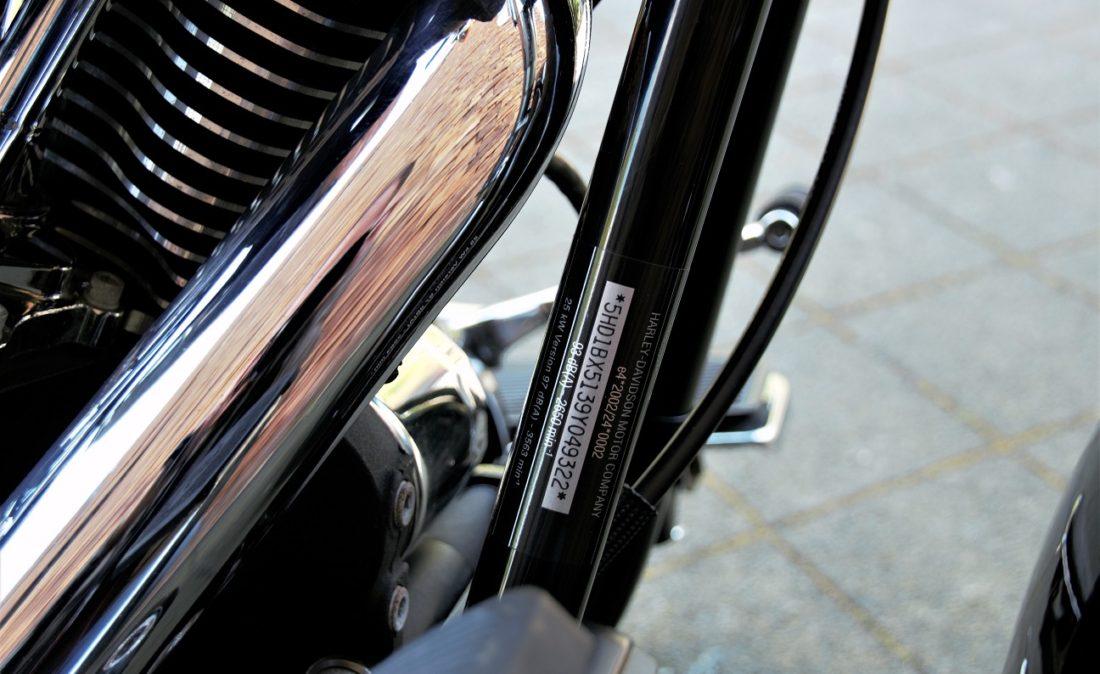 2009 Harley-Davidson FLSTF Fat Boy Softail VIN