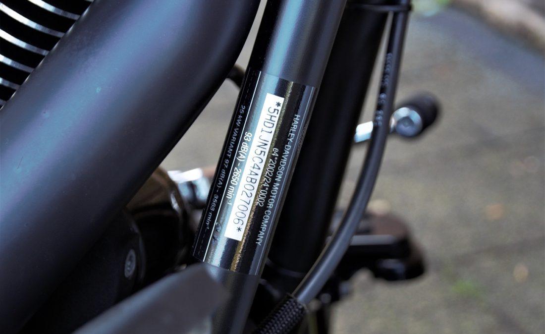 2010 Harley-Davidson FLSTFB Fat Boy Special Softail VIN