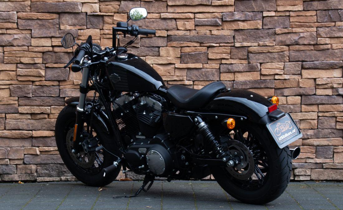 2017 Harley-Davidson XL 1200 X Forty Eight ABS zwart