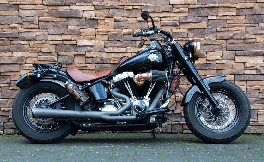 2012 Harley-Davidson FLS Softail Slim 103 ABS full option