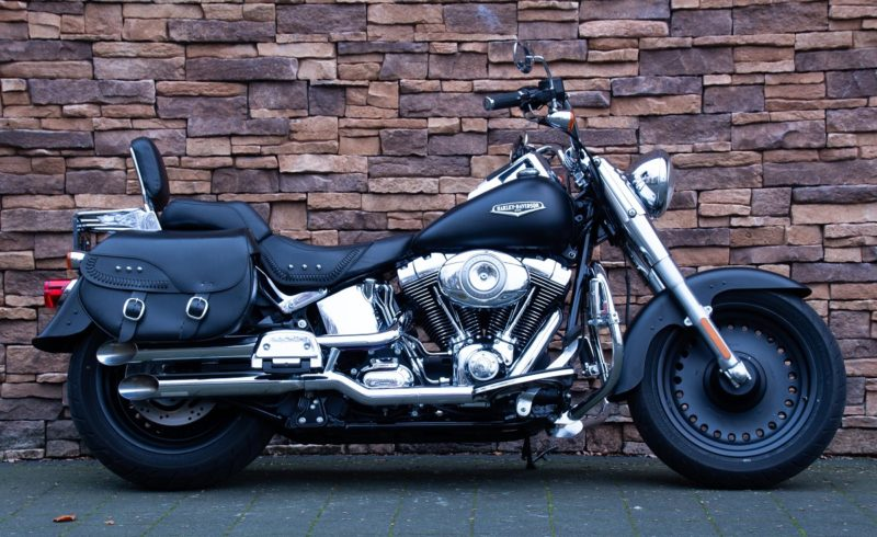 2007 Harley-Davidson FLSTFB Fat Boy Softail Fatboy Twin cam denim black S&S screamin Eagle