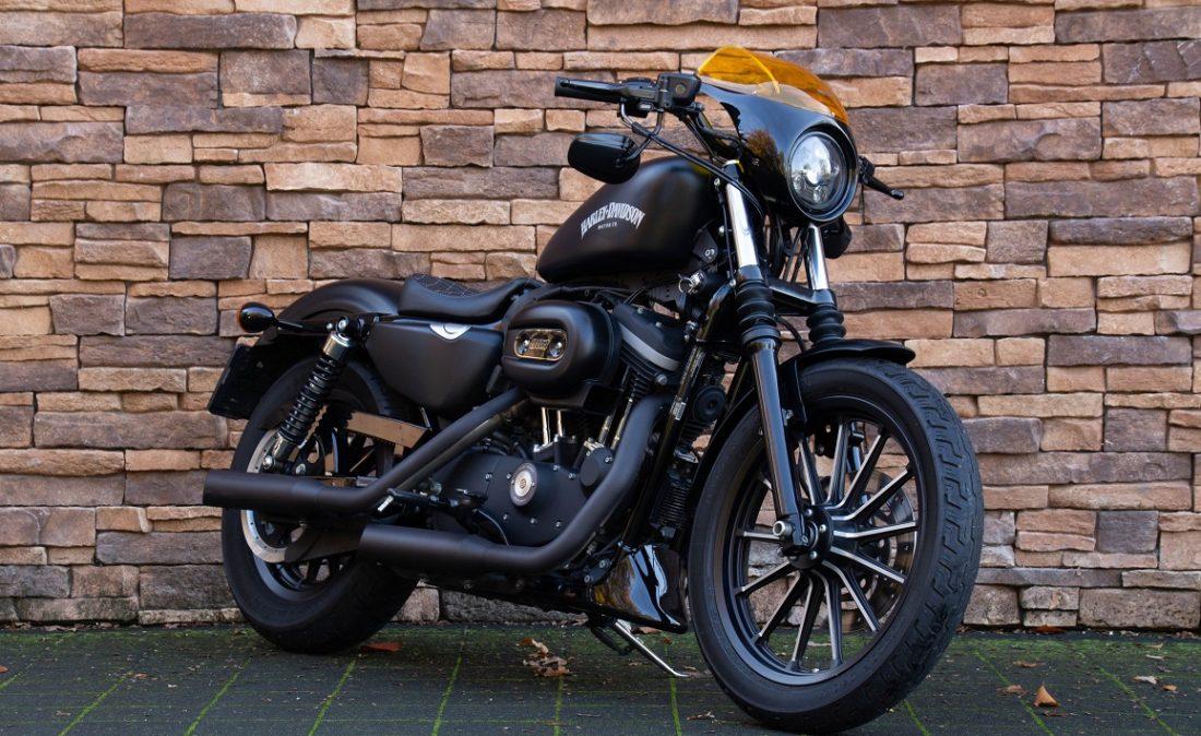 2012 Harley-Davidson XL883N Iron Sportster 883 RV
