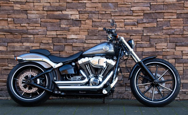 2014 Harley-Davidson FXSB Breakout Softail 103 ABS chrome flake