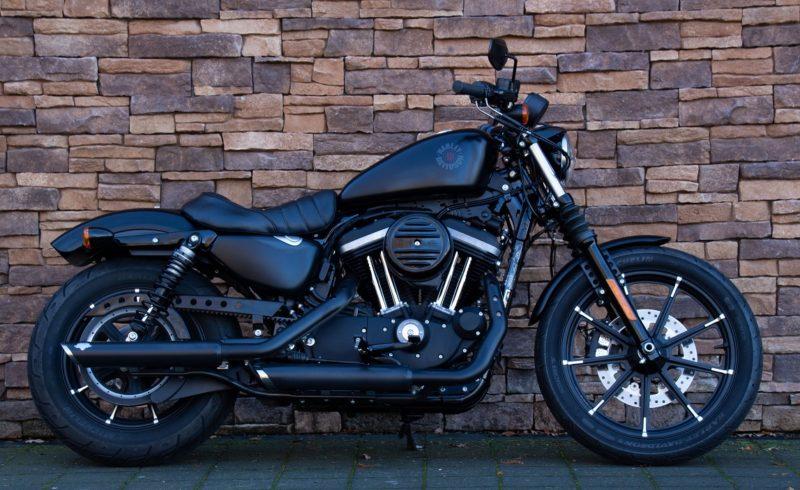 2019 Harley-Davidson XL883N Iron Sportster 883 vance hines denim black lopen US Bikes Uden
