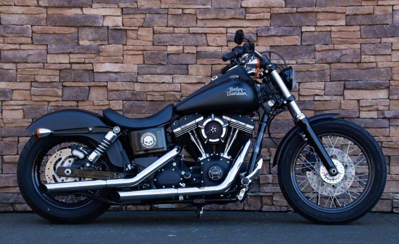 2015 Harley-Davidson FXDB Dyna Street Bob Low 103 ABS