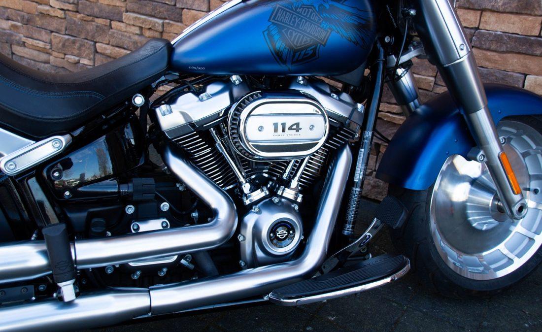 2018 Harley-Davidson FLFBS ANX Softail Fat Boy 114 Anniversary RE