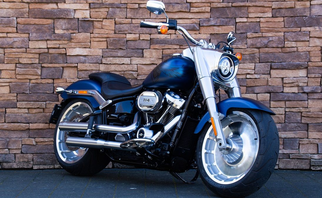 2018 Harley-Davidson FLFBS ANX Softail Fat Boy 114 Anniversary RV