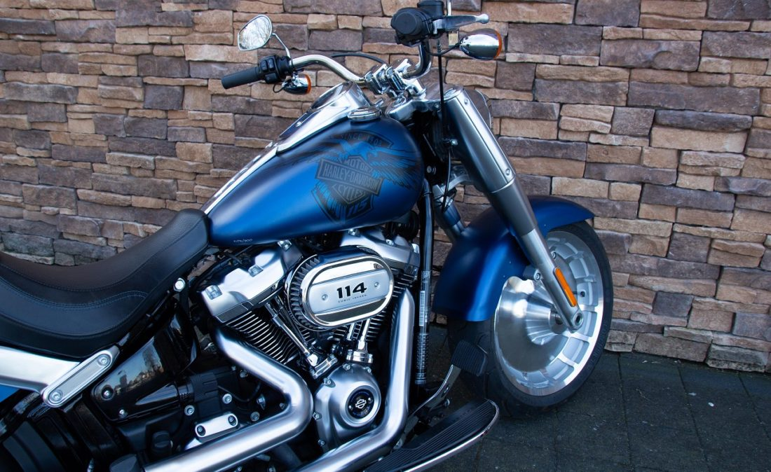 2018 Harley-Davidson FLFBS ANX Softail Fat Boy 114 Anniversary RZ
