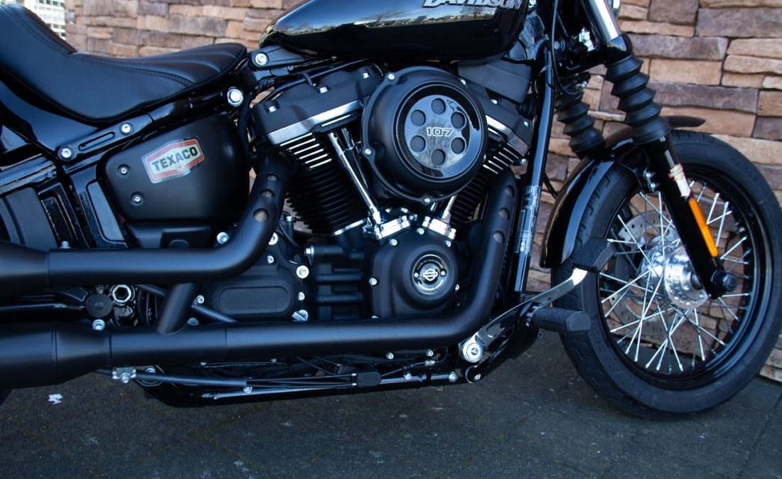 2019 Harley-Davidson FXBB Softail Street Bob 107 Jekyll Hyde RE