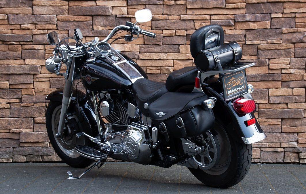 2002 Harley-Davidson FLSTF Fat Boy Softail Fatboy Twin Cam LA