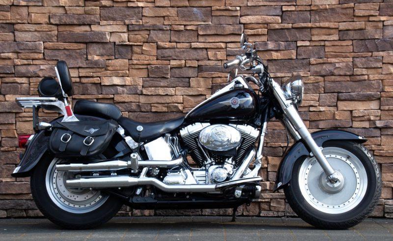 2002 Harley-Davidson FLSTF Fat Boy Softail Fatboy Twin Cam