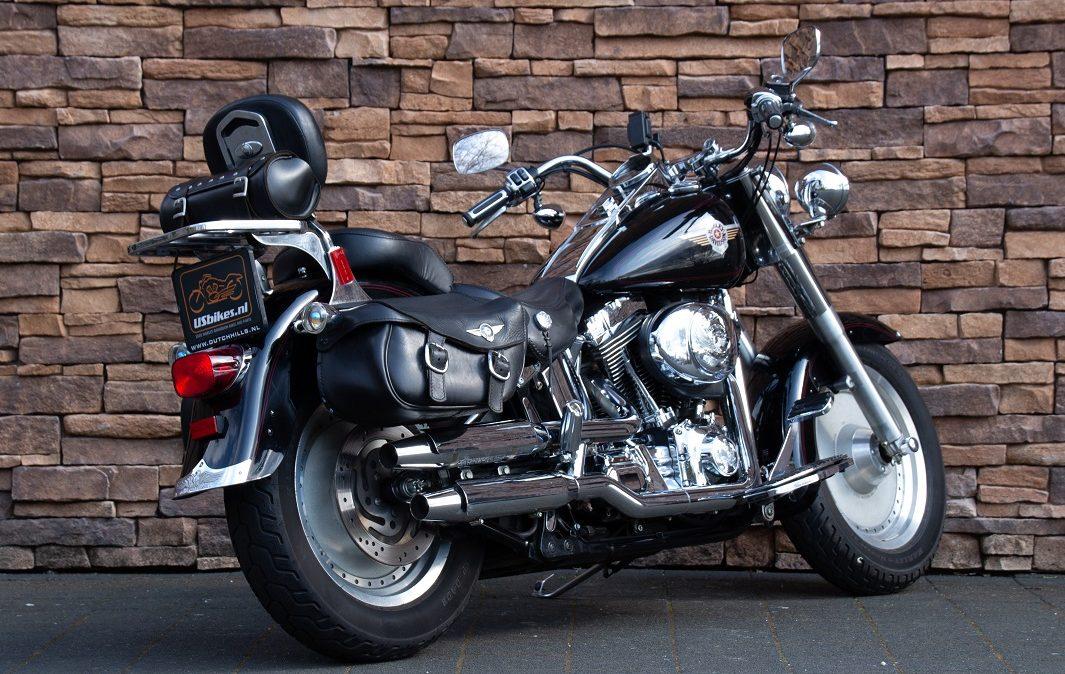 2002 Harley-Davidson FLSTF Fat Boy Softail Fatboy Twin Cam RA
