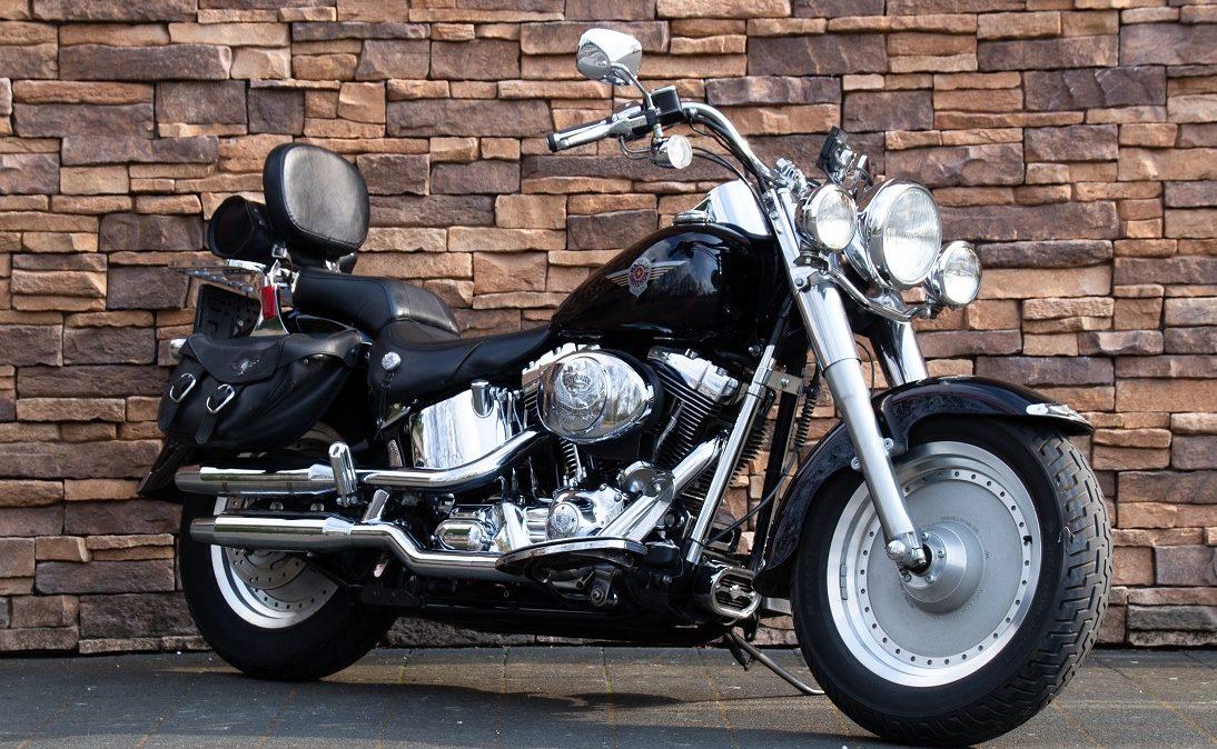 2002 Harley-Davidson FLSTF Fat Boy Softail Fatboy Twin Cam RV