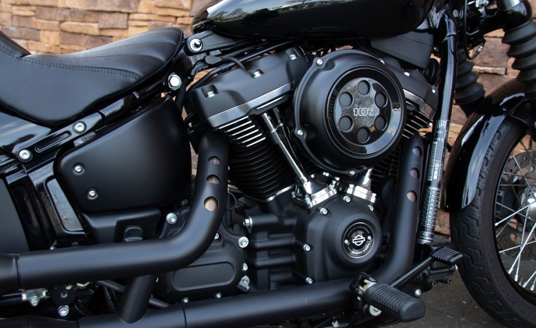 2018 Harley-Davidson FXBB Street Bob Softail 107 M8 RZ