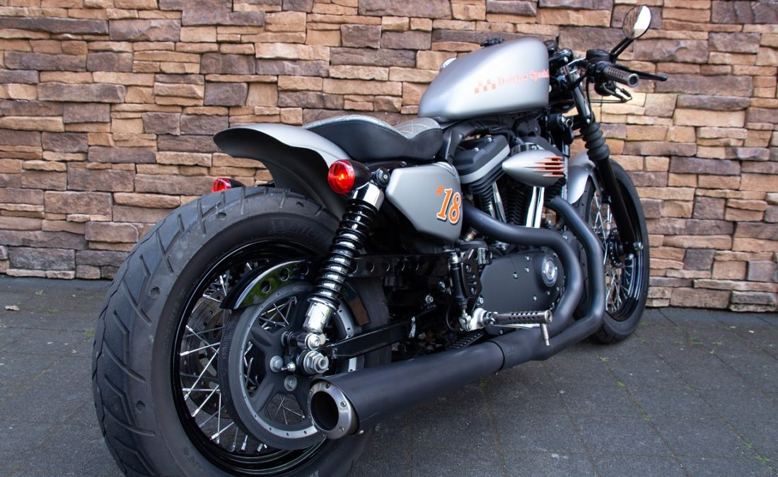 2014 Harley-Davidson Iron 883 Sportster Cafe Racer E