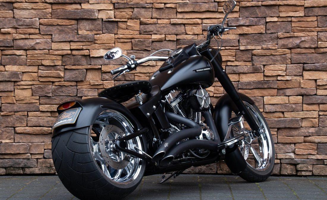 2007 Harley-Davidson FLSTF Fat Boy 110 Screamin Eagle Softail Fatboy RA