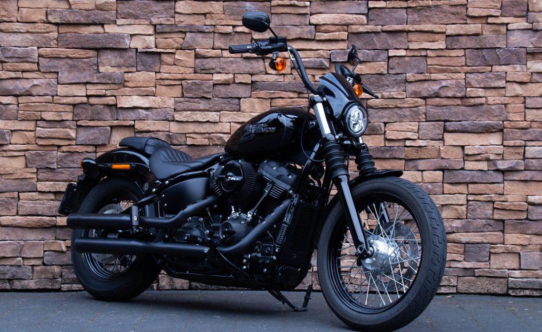 2018 Harley-Davidson FXBB Street Bob Softail 107 M8 RV