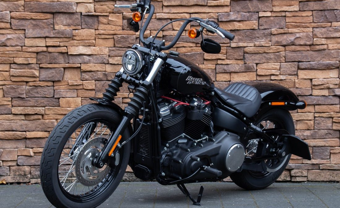 2018 Harley-Davidson FXBB Street Bob Sotfail 107 M8 LV