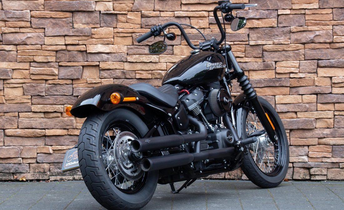 2018 Harley-Davidson FXBB Street Bob Sotfail 107 M8 RA